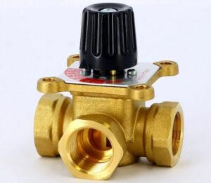 Многоходовые запорные клапаны: трехходовой фитинг и его особенности